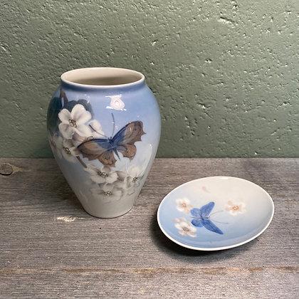 Royal Copenhagen vase/skål