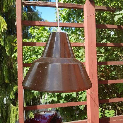 Arne Jacobsen industrilampe brun