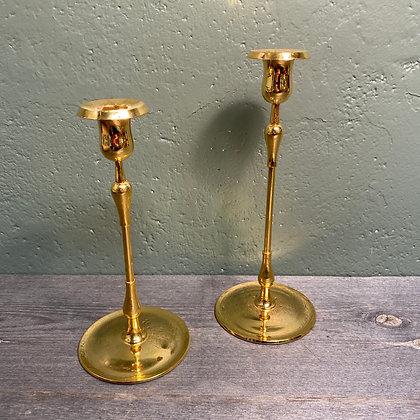 Gullbelagte lysestaker