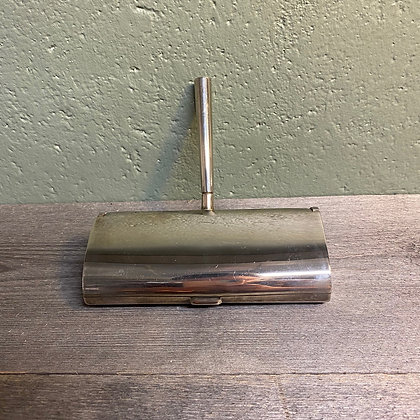 bordbørste i sølvplett