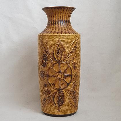Bay West Germany gul vase keramikk Ceramics