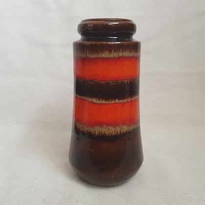 Scheurich 209-18 keramikk vase rød