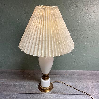 Høvik verk bordlampe opalisert glass XL