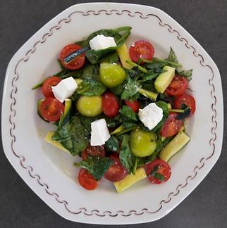 Saveurs en vrac-Lausanne-recette-Salade