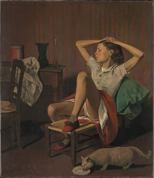 All About Therese Dreaming by Balthus