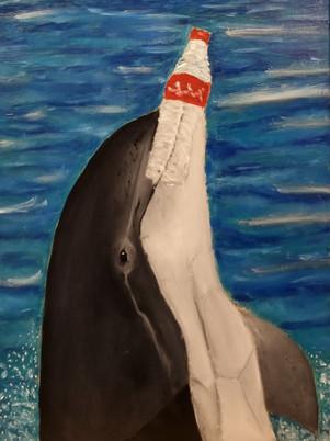 Bottlenose Dolphin Painting