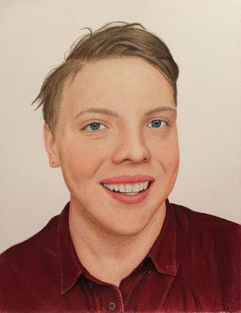 James Carter Art Self Portrait
