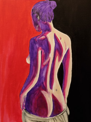 Nude Woman Painting