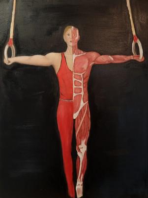 Crucifix Gymnatomy Painting