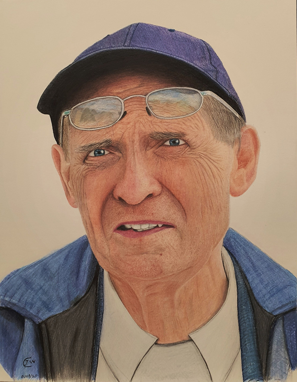 James Carter Art Realism Portrait Drawing
