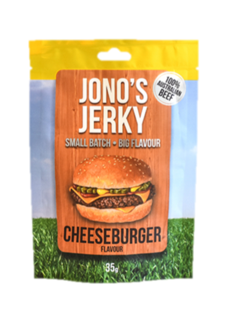 Cheeseburger flavoured Jerky