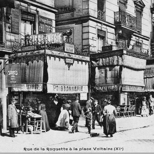 Végétalisation rue de la Roquette