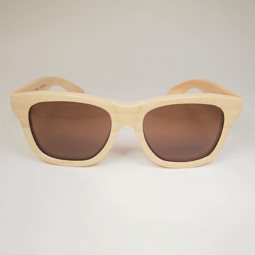 Bamboo Sunglasses with Brown Lens