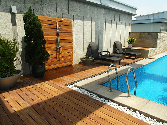 Carbonized Decking