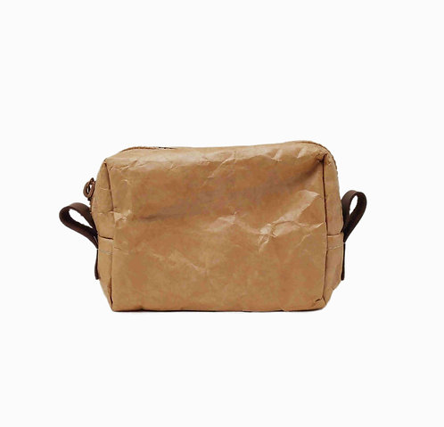 環保水洗牛皮蠟紙化粧包