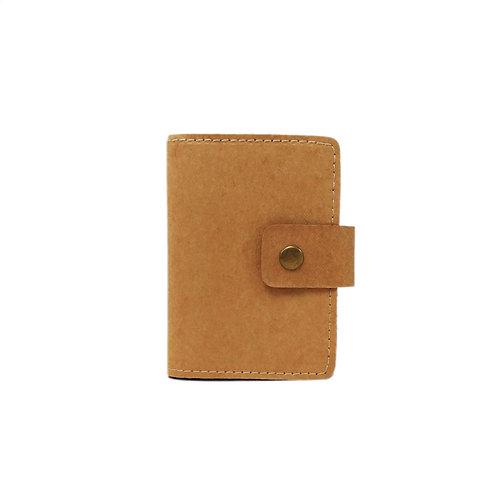 Washed Kraft Paper Cardholder