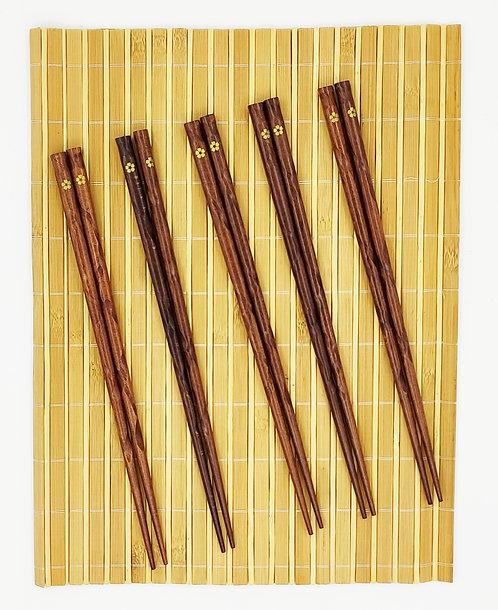 木筷子套裝-D