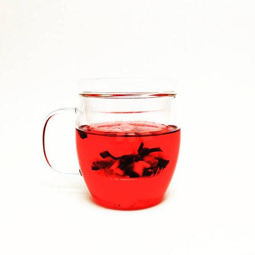 透明耐熱玻璃茶杯