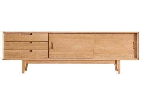 OPAL SOLID OAK TV Cabinet $4640 + delivery $400