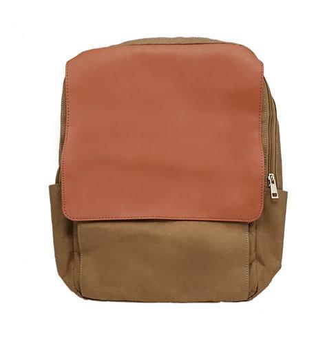 Washed Kraft Paper Backpack