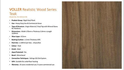 VOLLER Diamond RVP Flooring - Teak $470.2/Box(23.51sqft) + Delivery $300