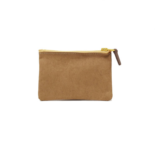 Washed Kraft Paper Coin Bag