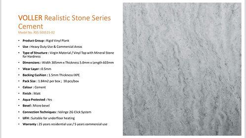 科能鑽石防水地板- 水泥灰 $/盒(19.8平方尺)+ 運費 $ 400