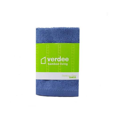 竹纖維毛巾 -丹寧
