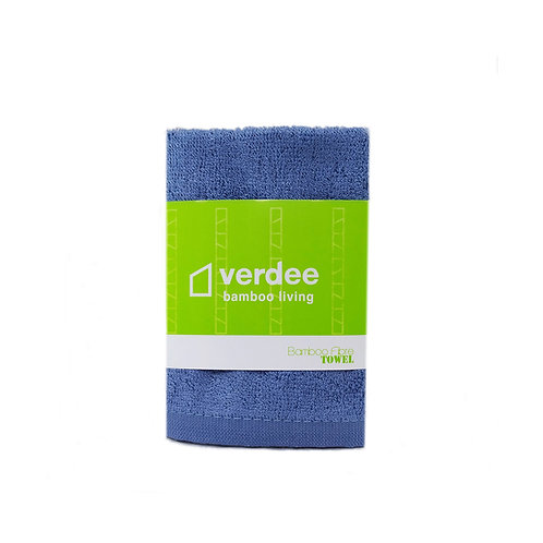 Bamboo Fiber Hand Towel - Denim