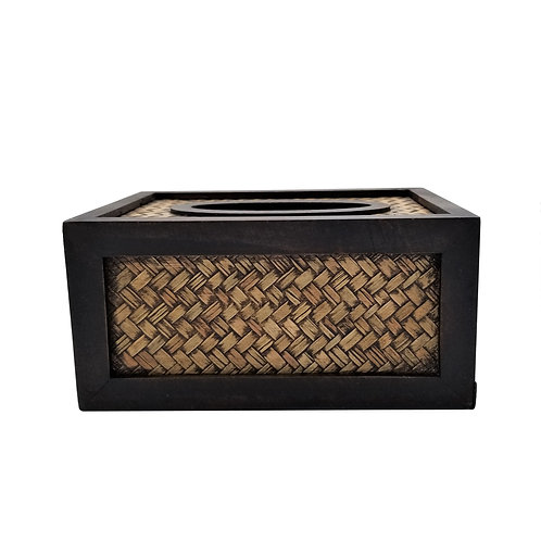 BANYAN Bamboo Woven Tissue Box