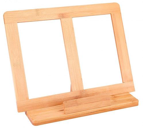 竹製閱書架