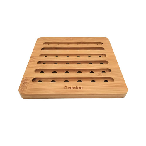 Square Bamboo Heat Insulation Mat
