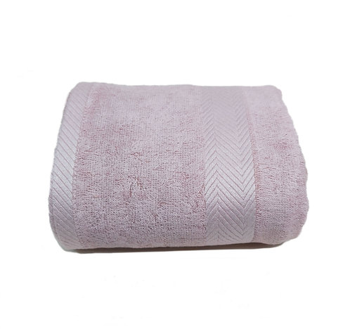 Bamboo Fiber Bath Towel - Old Rose