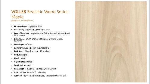 VOLLER Diamond RVP Flooring - Maple $470.2/Box(23.51sqft) +Delivery $300