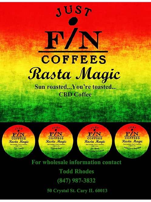 Rasta Magic - Nutty Love Hazelnut
