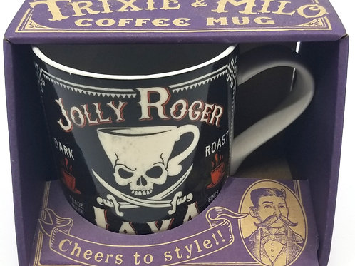 Trixie & Milo Coffee Mug - Jolly Roger Java
