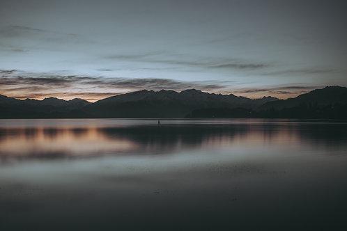 Sunset Reflections, Wanaka