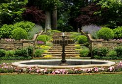 Custom Built Bronze Fountain
