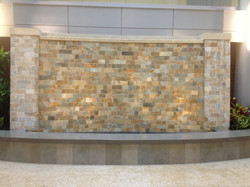 Hospital Atrium Water Wall