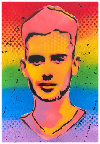 Samuel Luiz (Gay Flag) Justice for Samuel