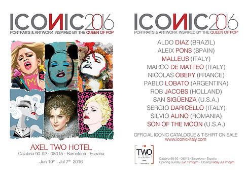 Iconic-Barcelona,Spain - Group Exhibition - Silvio Alino