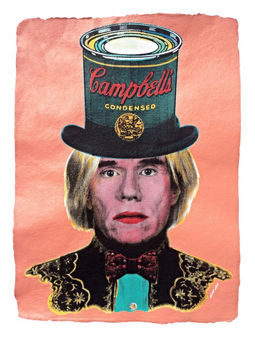 ANDY WARHOL | CAMPBELL´S HAT (Orange)