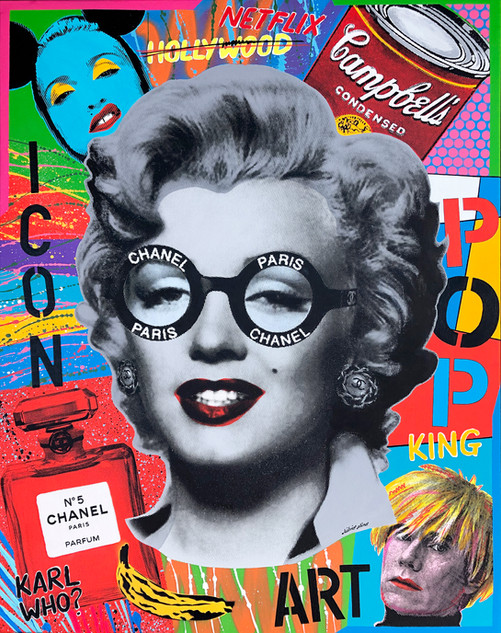 Marilyn Chanel ( Pop Cult) Silvio Alino.