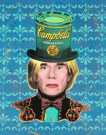 ANDY WARHOL   CAMPBELL´S HAT (Turquoise)