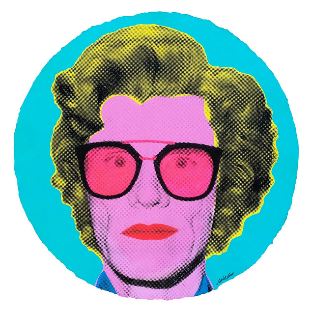 Superstar | Andy Warhol (pink-fluorescent)
