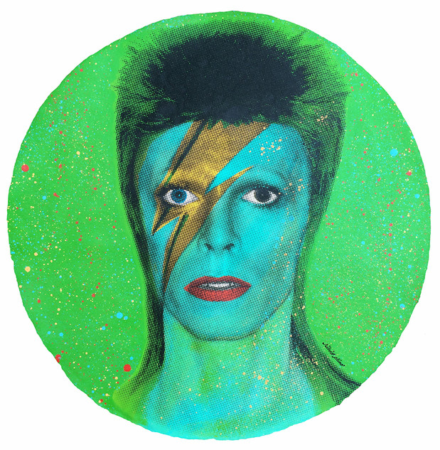 DAVID BOWIE (Turquoise)