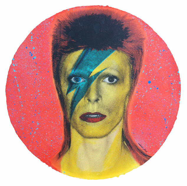 DAVID BOWIE (Yellow)