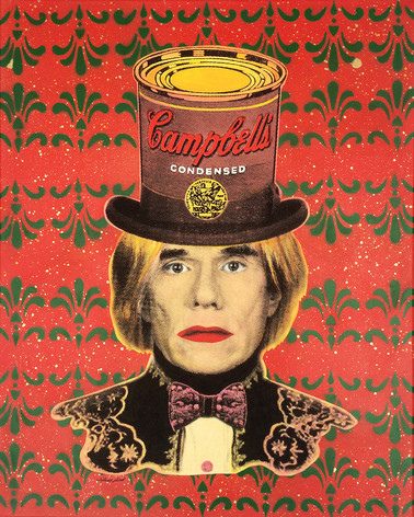 ANDY WARHOL   CAMPBELL´S HAT (Red)