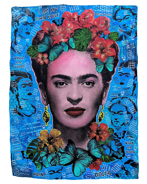 Frida Kahlo - I am my own muse - Silvio Alino 2021.jpg