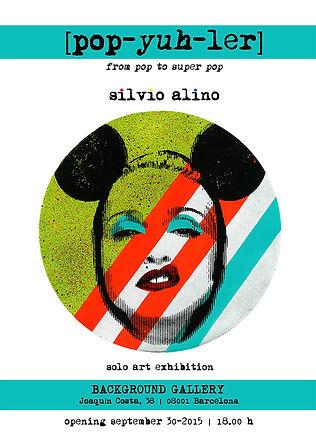 Pop-yuh-ler Solo art exhibition, Silvio Alino